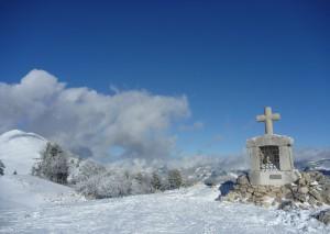 L'oratoire , une balade à partir du Col de Porte en raquettes, à skis de fond ou de rando
